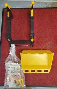 New Old Stock NOS Ertl John Deere TBE15049 Plastic Loader for Pedal Tractor