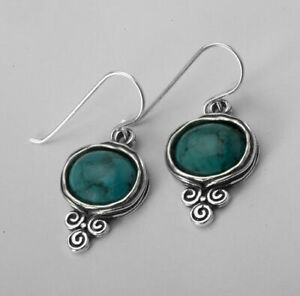 Shablool Didae Sterling Silver Earrings turquoise Turquoise For Women