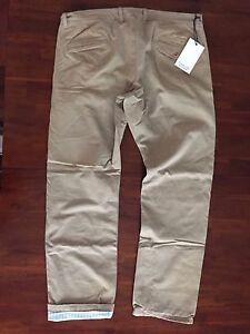 RIVERA CLUB FOR DOCKER'S  KHAKI CHINO PANTS( W38x 34) $ 200