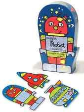 Puzzle evolutivi in legno età 3+ - Scatola ROBOT, marca Vilac SPEDIZ.VIA CORRIER