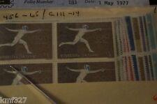 San Marino - scott 456-465 / C111-14 - MNH - 1960 Olympics Block of 4