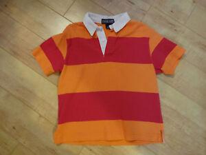 Boy Lands End Polo Shirt Med 5 NWOT New