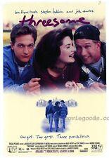 THREESOME Movie POSTER 27x40 B Lara Flynn Boyle Stephen Baldwin Josh Charles