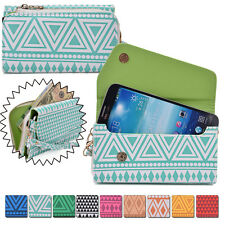 Convertible Aztec Smart-Phone Wallet Case Cover & Evening Clutch MLUC5