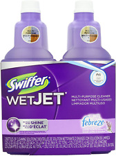 Swiffer Wet Jet Solution Floor Cleaner Refill Lavender Scent 2-Pack Pre-Mixed