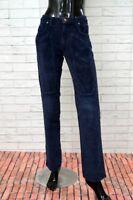 Pantalone JECKERSON a Costine  Donna Taglia Size 26 Jeans Woman Elastico