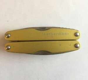 Leatherman Juice KF4 Yellow Multitool Rare and Collectable