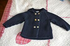 veste cyrillus marine double boutonnage  6 mois f ou g**