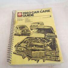 Texaco 1983 Car Care Guide - Created by Gousha / Chek-Chart