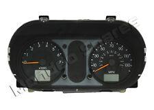 FORD FIESTA MK6 1.4 PETROL SPEEDO CLOCK CLUSTER AUTO ORANGE NEEDLE 2002 - 2004