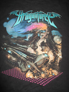 2008 British Power Metal Band DragonForce Ultra Beatdown Concert Tour (XL) Shirt