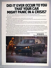 Volvo 240 PRINT AD - 1975