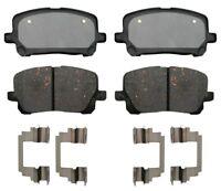 Disc Brake Pad Set-Ceramic Disc Brake Pad Front ACDelco Advantage 14D923CHF1