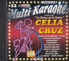 Celia Cruz La Reina De La Salsa Multi Karaoke New SEALED