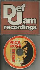 RICK ROSS w/ MARIO WINANS Get Away w/ CLEAN & INSTRUMENTAL PROMO DJ CD Single