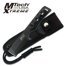 Mtech Xtreme Tactical Fixed Blade Hunting Knife Knives W/ Chisel #8088