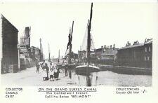 Shipping Postcard - On The Grand Surrey Canal - Sailing Barae 'Belmont'   U864