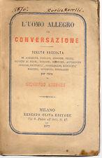 L'uomo allegro in conversazione 1875