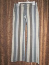 PARASUCO Ergonomic Jean 31 32 Flare Vertical Stripe Heavy Dress Casual Pants 33L