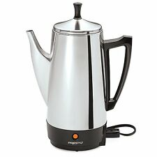 Percolator 12 Cup Coffee Maker Machine Stainless Steel Electric 12 Cup New