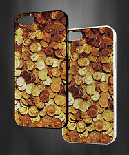 MONEY GOLD COINS METAL GOLD DUST DOLLARS HARD PHONE CASE COVER H711