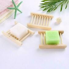 Wood Soap Holder Natural Bamboo Shower Room Soap Box Home Bath Dish  Accessories