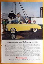 Vintage Magazine Print Ad 1948 Studebaker
