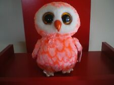 Ty Beanie Boos CORA the owl 6 inch NWMT. Justice Exclusive.LIMITED QUANTITY.