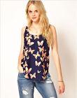 Fashion Women Summer Vest Top Sleeveless Blouse Casual Tank Tops T-Shirt Chiffon