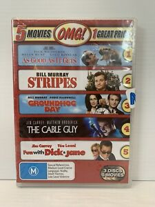 SEALED The As Good As It Gets Cable Guy Dick And Jane Groundhog Day Stripes