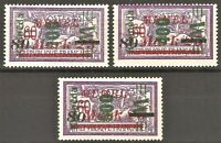 DR Memel Nazi Rare WWI Stamp 1923 Overprint Klaipeda Service Full Set Classic St