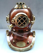 "Antique US Navy 6"" Diving Helmet Mark IV Deep Sea Mini Divers Helmet replica"