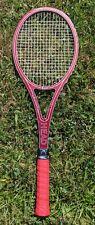 Vintage Tennisschläger - HEAD - Arthur Ashe Expert - Boston - dunkelrot