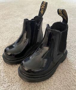Infant Girls DM's Doc Martens Dr Martins Boots Size 4