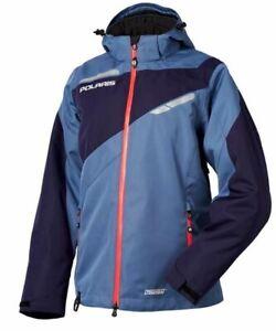New OEM Polaris Women's Switchback Jacket - Blue/Pink, Black/Rose - L, XL, XXL