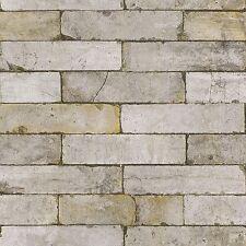 STONE WALL EFFECT WALLPAPER - RASCH 203608 - NEW TEXTURED