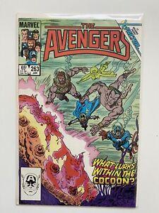 Avengers #263 Marvel 1986 Sub-Mariner Cover Phoenix Cameo