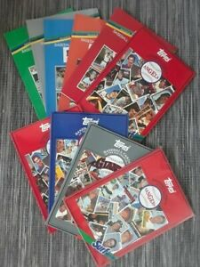 Topps/Surf MLB Card Team Albums-NEW.