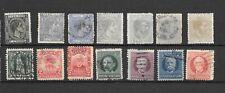 CUBA  14 stamps  USATI colonie spagnole    - lot lotto