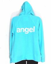 VICTORIAS SECRET M  angel sequin SUPERMODEL ESSENTIAL hoodie zip jacket sweatshi