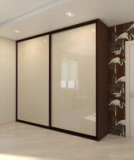 Sliding Wardrobe Mirror Glass Gloss Panel Doors. Made To Measure. Custom Design.