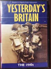 YESTERDAY'S BRITAIN 1940's   DVD Readers Digest Relive the times we kept smiling