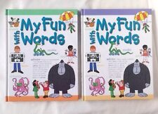 My Fun With Words Hardcover 2 Book Set A-K & L-Z  James Ertel  Southwestern
