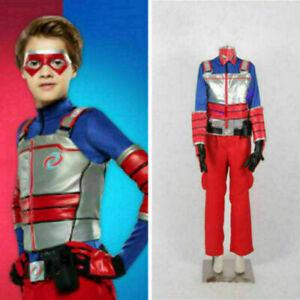 Henry Danger Kid Danger Cosplay Costume include mask full set