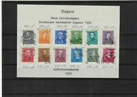 hungary 1932 stamps ref 11065