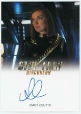2019 Star Trek Discovery Season One Emily Coutts Autograph Very Limited