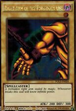 Right Arm of the Forbidden One PGL2-EN024 Gold Rare X 3 1st Mint YUGIOH English