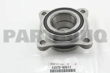 4357060011 Genuine Toyota BEARING ASSY, FRONT AXLE W/ABS ROTOR, RH/LH