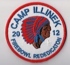 BSA Patch Camp Illoinek 2012, Firebowl Rededication, Abraham Lincoln Cl Illinois