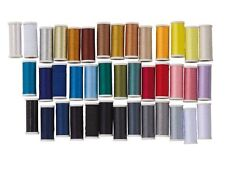 CRELANDO Sewing Thread Set Tear Resistant Elasticated Transparent Gold (40pcs)
